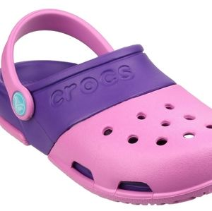 Crocs Kids Electro II Clog Party Pink/ Neon Purple